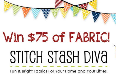Win a $75 Gift Card to Stitch Stash Diva (Fabric)