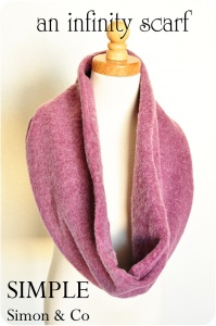 Infinity Scarf by Simple Simon and Co