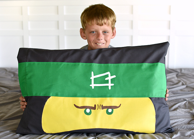 Ninjago Pillow Case