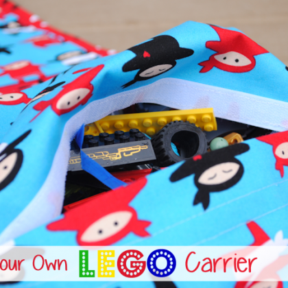 Lego Carrying Case Pattern & Tutorial