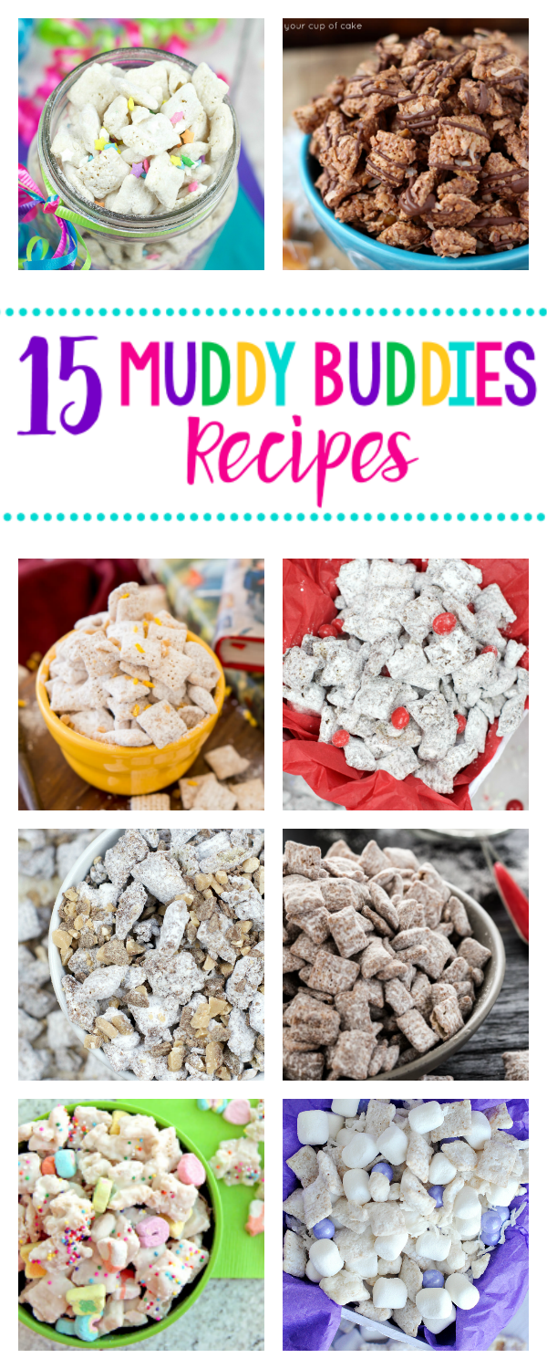 15 Amazing Muddy Buddies Recipes