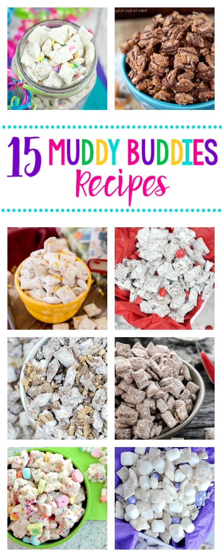 15 Amazing Muddy Buddies Recipes