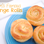 Mom's Famous Orange Rolls Recipe