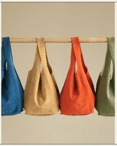 Soho Slouch Tote by WK Designs