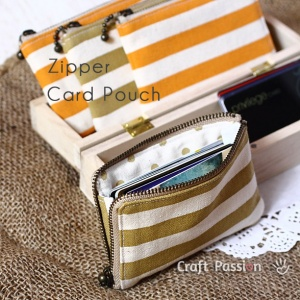 Card Pouch by Craft Passion
