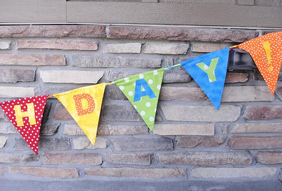 Make a birthday banner