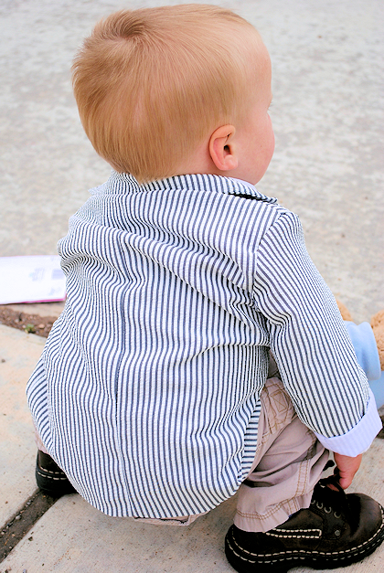 Boys Suit Jacket Pattern