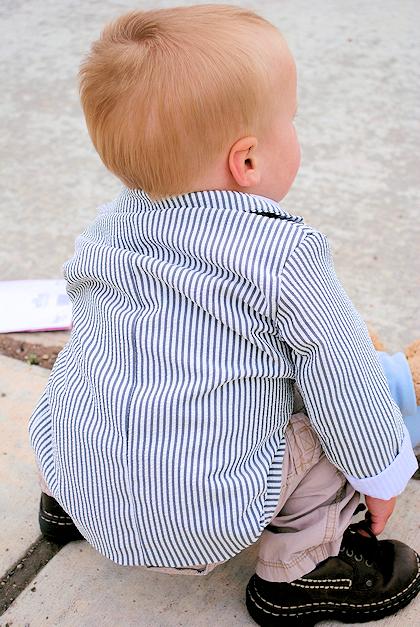Boys Suit Jacket Pattern - Crazy Little Projects