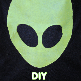 Glow in the Dark Alien T-Shirts