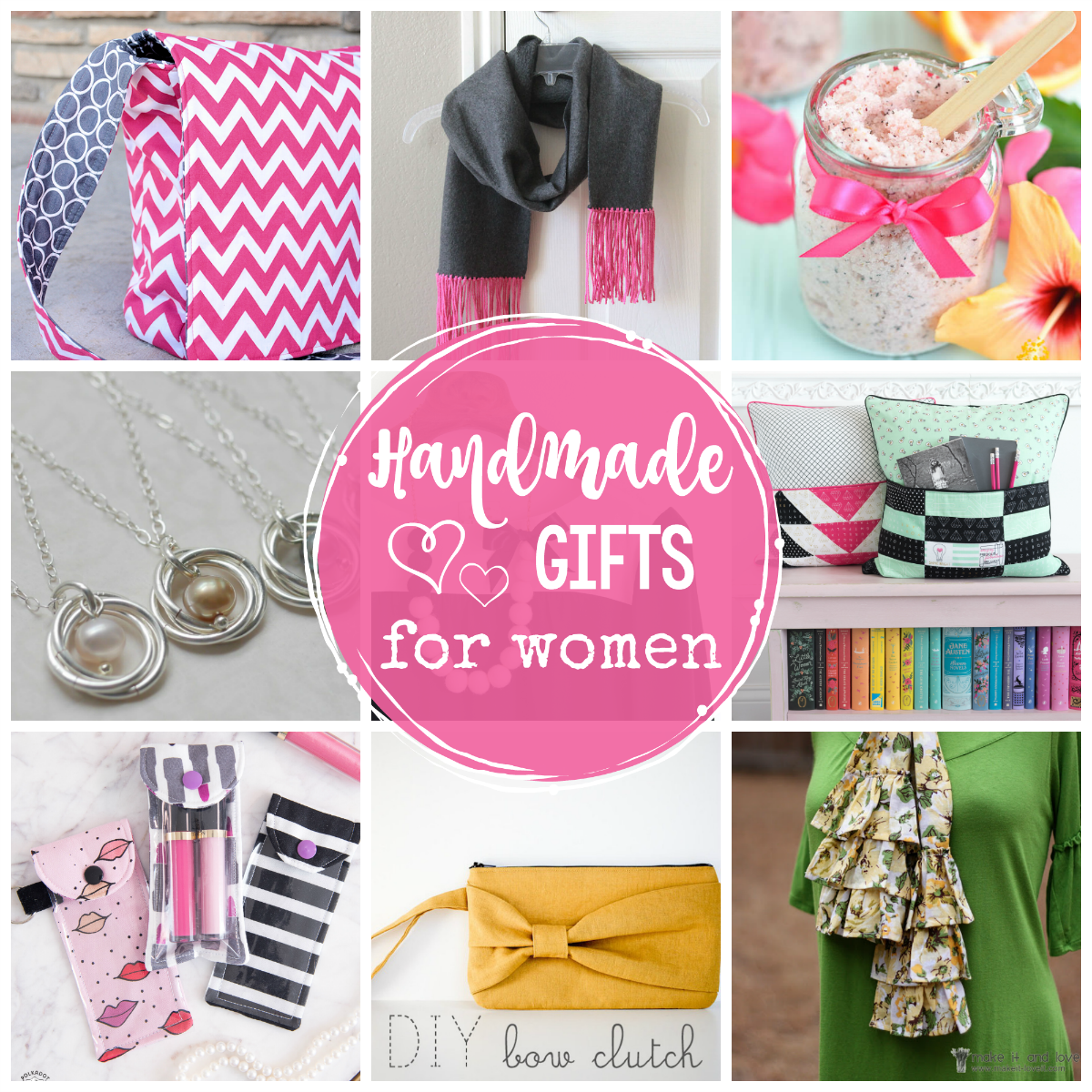 25 Great Handmade Gifts for Women - Crazy Little Projects