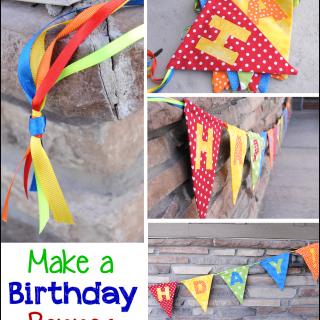 Birthday Banner Tutorial