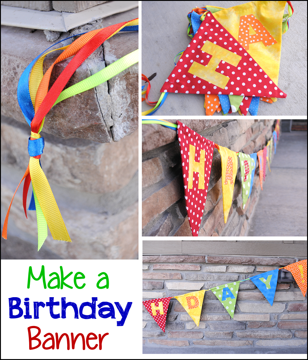 Birthday Banner Tutorial