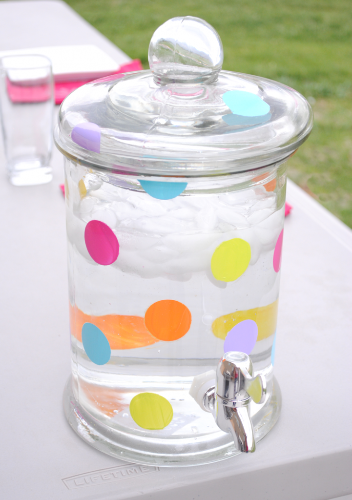 Make a lemonade jug for summertime