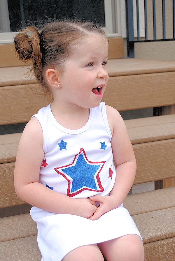 Girl's 4th of July Dress
