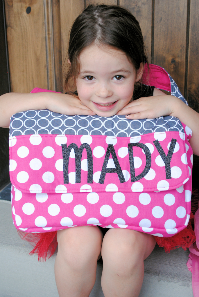 How to Make a Personalized Kids Messenger Bag