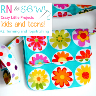 Learn to Sew Kids: Turning & Top Stitching