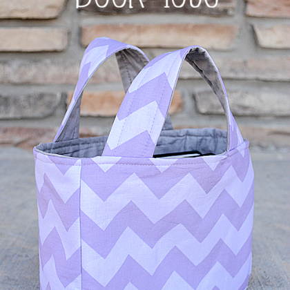 Mini Book Tote Bag Pattern