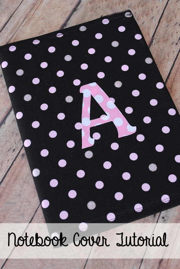 How To Make A Quick Book Cover ~ Notebook cover tutorial