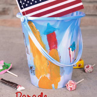 Parade Candy Bucket: Kids Craft