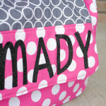 Personalized Kids Messenger Bags