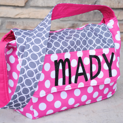 Personalized Kids Messenger Bag Pattern