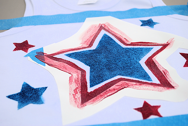 Stenciled4thofjulydress