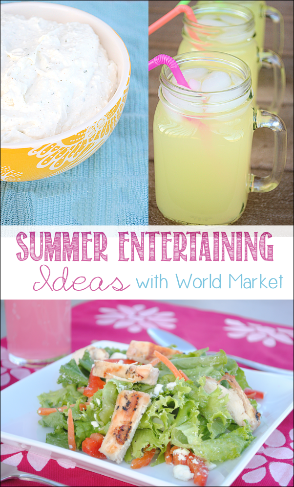 Summer Entertaining With World Market