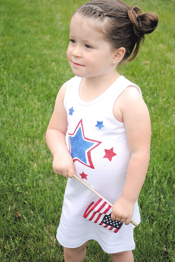 Make a 4th of July Dress