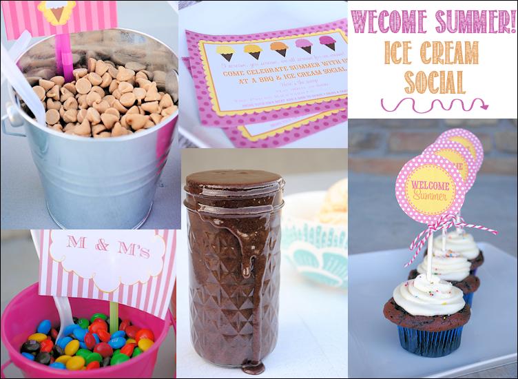Welcome Summer Ice Cream Social