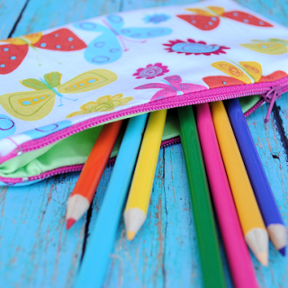 Zippered Pencil Bag Pattern