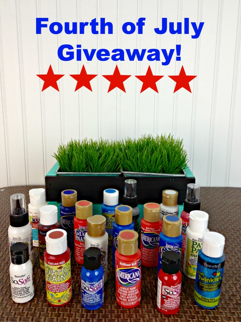 Craft Paint Giveaway