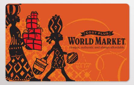 World Market Gift Card