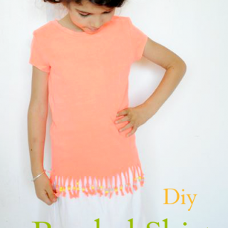 Beaded Shirt DIY Tutorial by Sew Crafty Kids