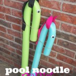 Pool Noodle Ponies: Kids Craft