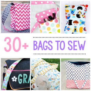 30+ Free Bag Sewing Patterns