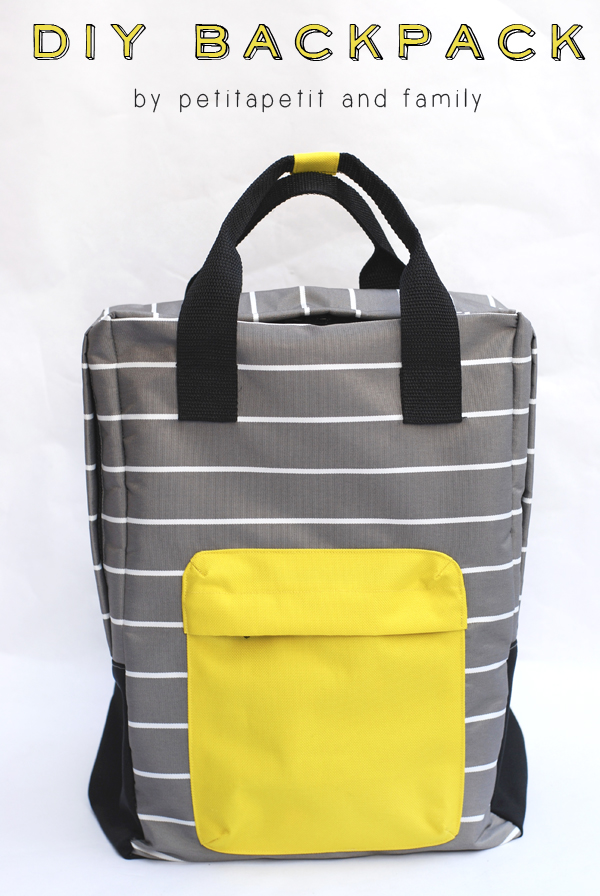 Square Backpack Tutorial