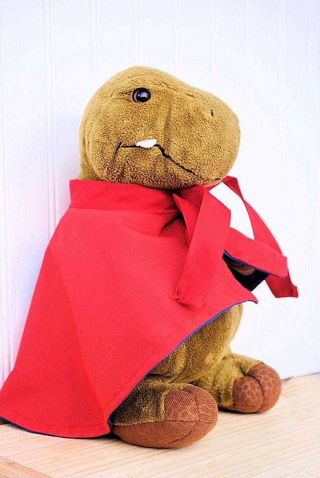 Kids Stuffed Animal Superhero Cape