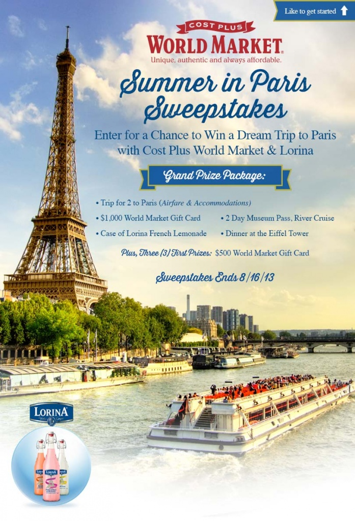Enter to Win a Trip to France!