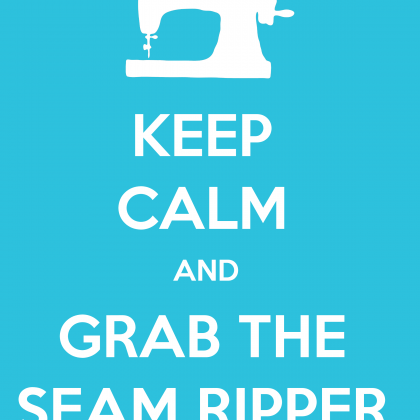 Keep Calm Sewing Printable