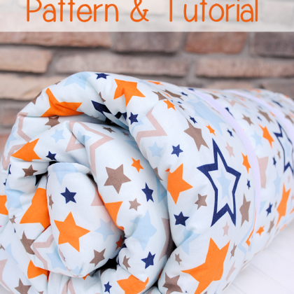 Kid's Sleeping Bag Pattern & Tutorial