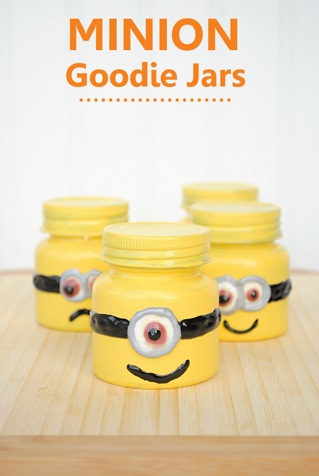 Craft Ideas For Little Kids Part - 19: Minion Party Favors By Crazy Little Projects