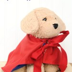 Make a Mini Cape for your Stuffed Animals by Crazy Little Projects