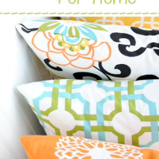 25 Things to Sew for Home