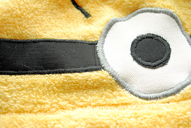 Minion hooded towel pattern for kids crazy little projects