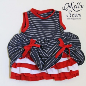 Betsy Ross Baby Dress
