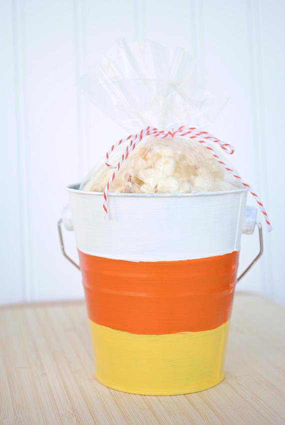Candy Corn Bucket