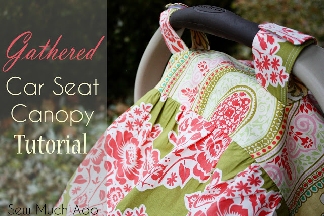 Car Seat Cover Pattern and Tutorial