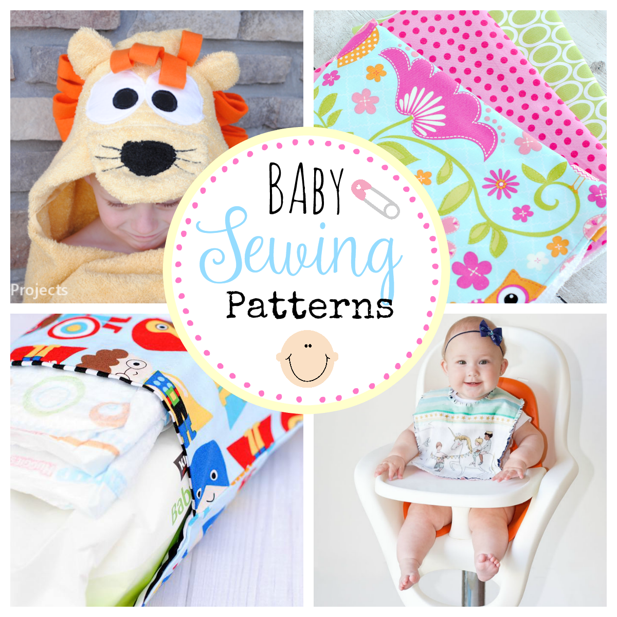 bbbc59ca6e64 25 Fabulous Free Baby Sewing Patterns