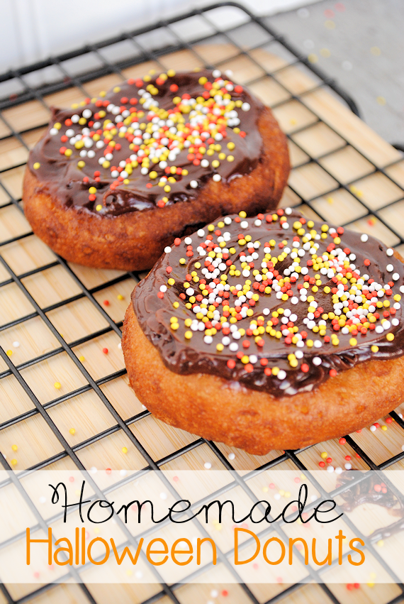 Homemade Doughnuts Recipe that is SO quick and easy and yummy! by Crazy Little Projects