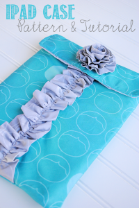 Ipad Sleeve Tutorial and Pattern by Crazy Little Projects